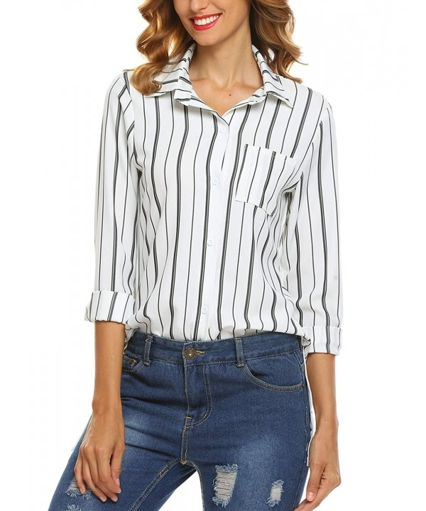 Soteer Womens Vertical Stripes XX Large