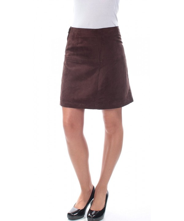 Sanctuary Womens Skirt Chocolate 10 12