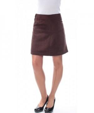 Sanctuary Womens Skirt Chocolate 10 12