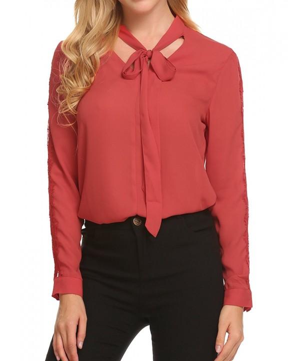 Zeagoo Womens Casual Chiffon T Shirt