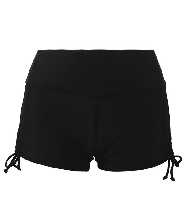Womens Bikini Bottom Side Twist Black XL