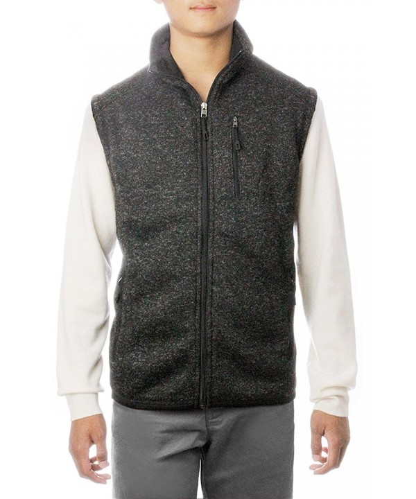 Sleeveless Jacket Sweater Outside Unlined