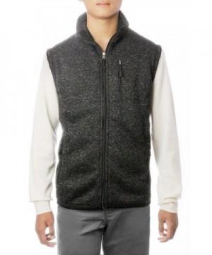 Sleeveless Jacket Sweater Outside Unlined