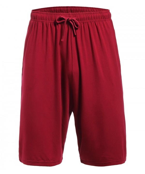 Latuza Pajama Bottom Shorts WineRed