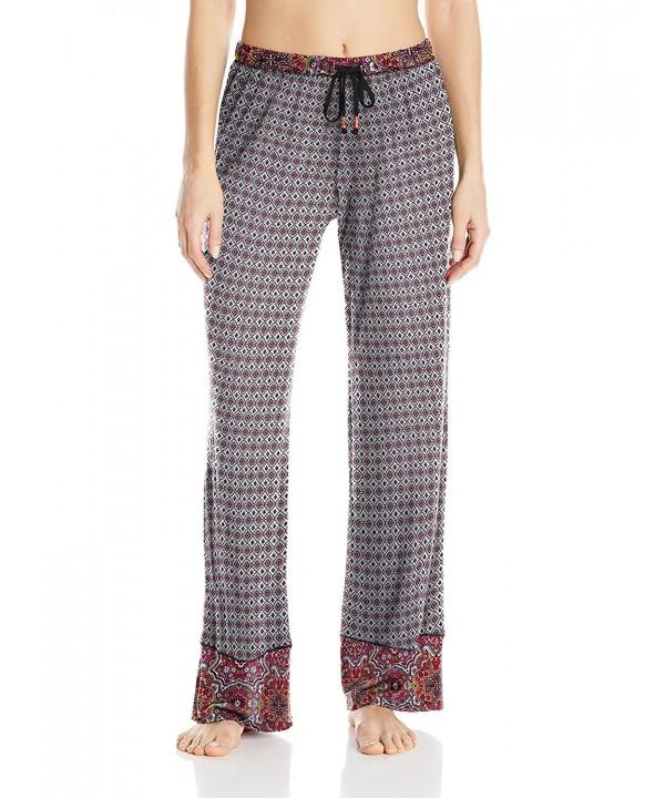Layla Womens Border Print Pajama