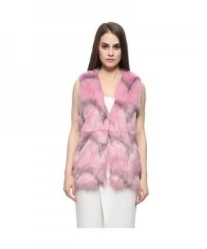 Dikoaina Womens Winter Sleeveless Outwear