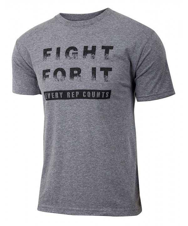 Fight Weightlifting Triblend Workout T shirt