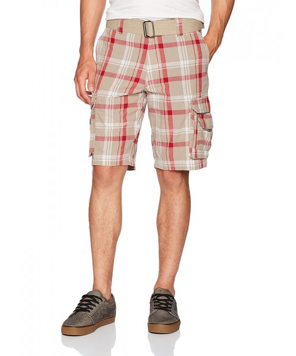 Burnside Borrowed Belted Plaid Cargo