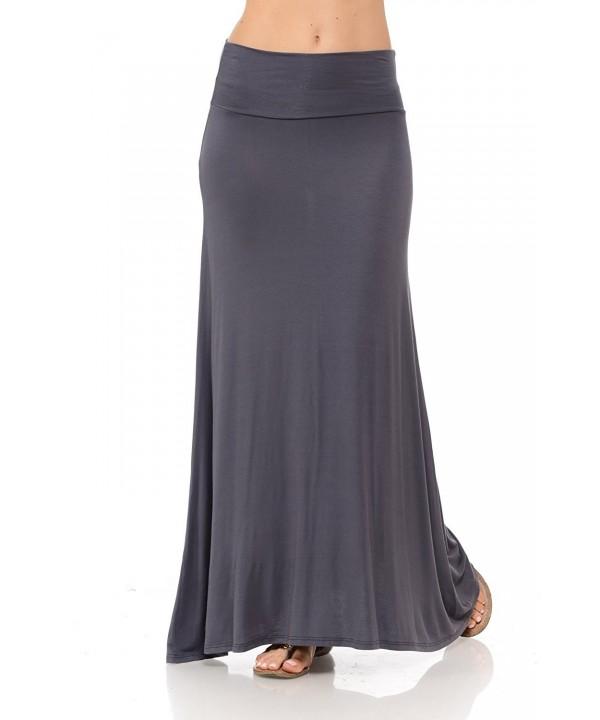 Shamaim Womens Skirt Charcoal 3X Large