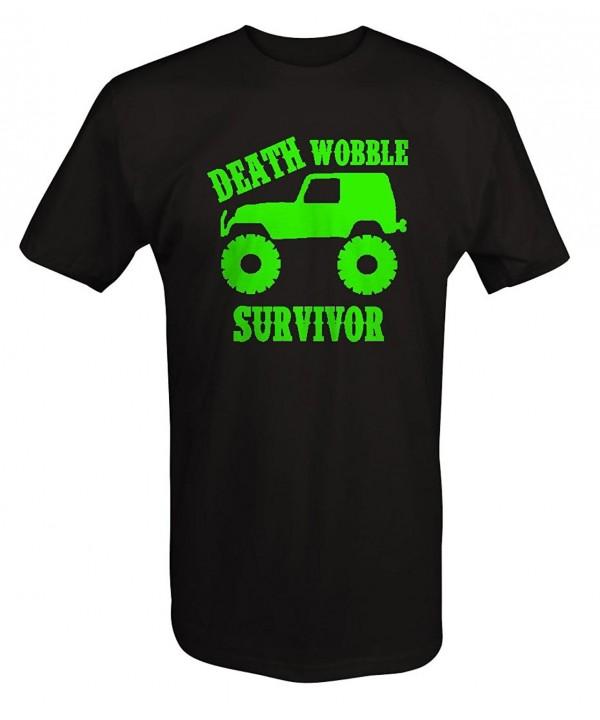 LIME Jeep Wrangler Wobble Survivor T ShirtT