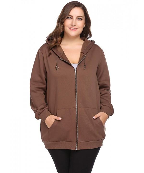 INVOLAND Active Full Zip Hoodie Jacket
