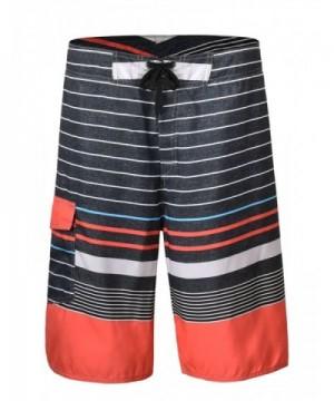 Hilor Shorts Boardshorts Striped Pattern