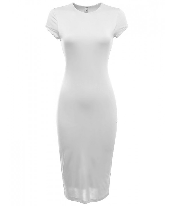 Awesome21 Sleeve Double Bodycon Offwhite