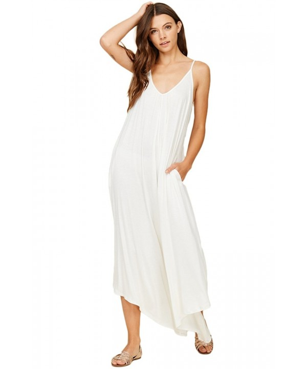 Annabelle Asymmetrical Overall Jumpsuit Rompers