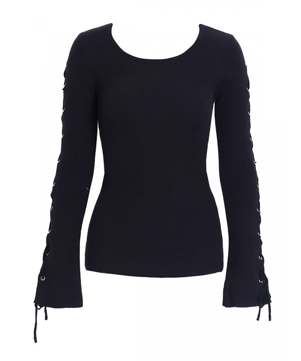 Simplee Womens Pullover Sweater Knitted
