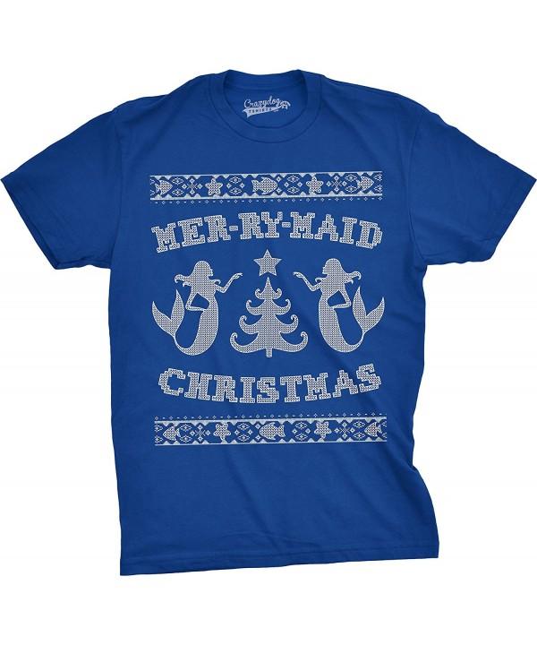 Crazy Dog T Shirts Mer RY Maid Christmas