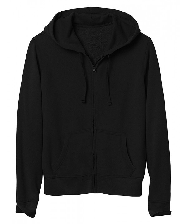 Mens Zip Hoodie 2X Large hc11_black