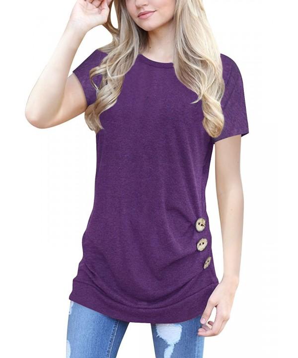 Yknktstc Womens Casual T Shirt X Large