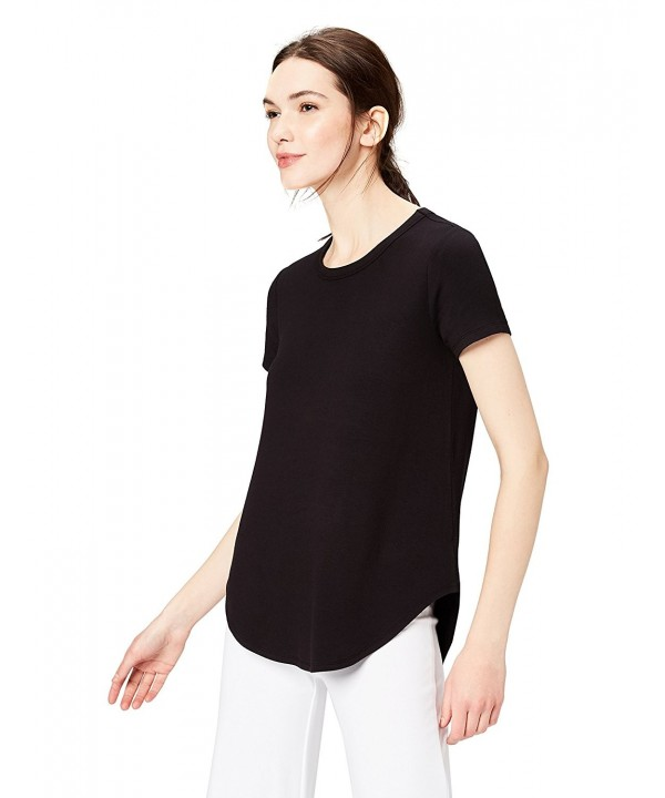 Daily Ritual Supersoft Short Sleeve Shirttail