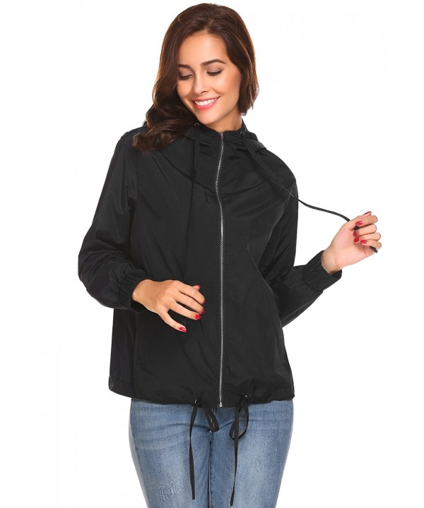 Waterproof Lightweight Breathable Raincoat Hooded