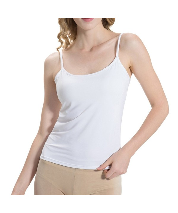 HBY Womens Camisole Padded Adjustable