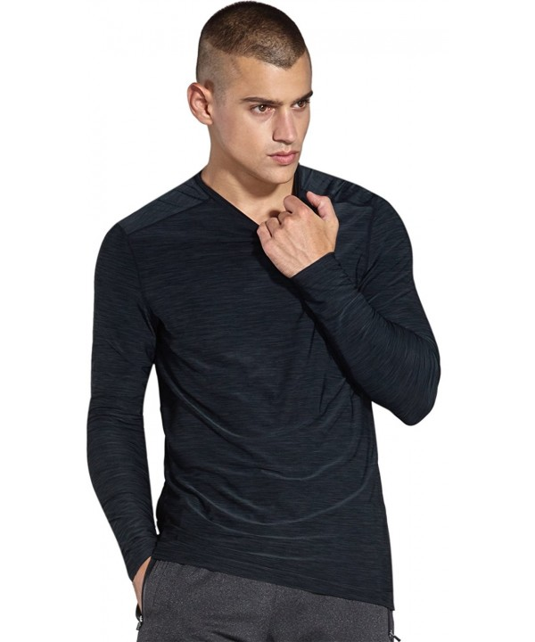 KomPrexx Mens Long Sleeve T Shirts