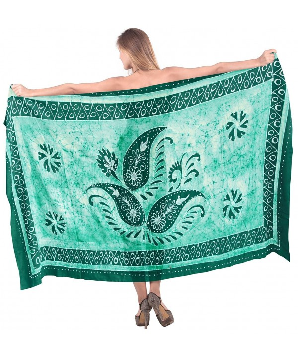 Leela Smooth Paisley Beachwear Sarong