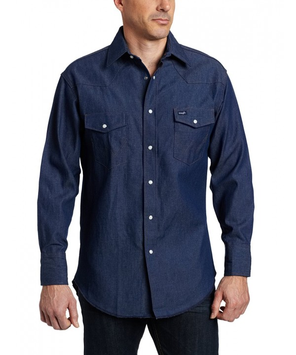 Wrangler Authentic Cowboy Western Sleeve
