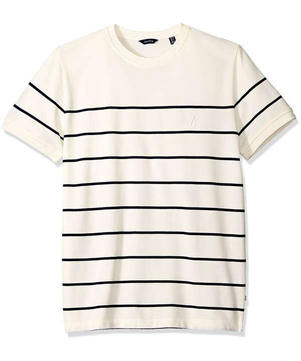 Nautica Sleeve Bretton Stripe Marshmallow