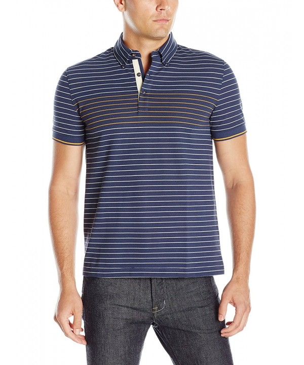 Nautica Striped Shirt Indigo X Large