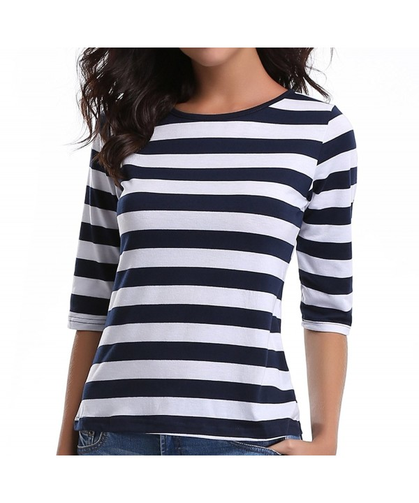 MISS MOLY Womens Striped Sleeves
