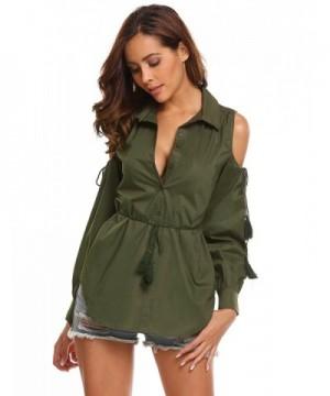 Cheap Women's Button-Down Shirts Clearance Sale