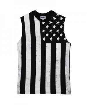 Calhoun Sportswear Distressed Black Muscle