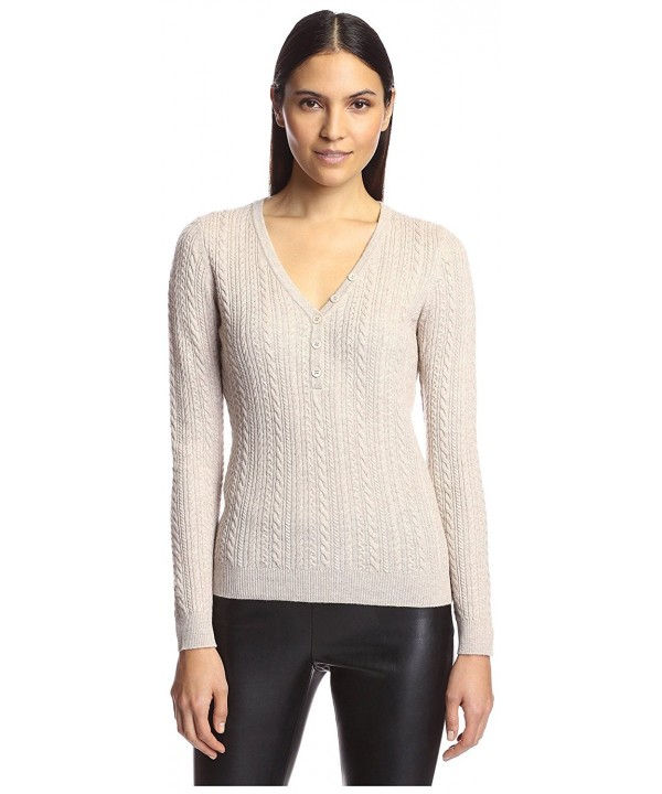 SOCIETY NEW YORK Sweater Oatmeal