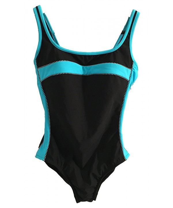Miraclesuit Womens Magnum Black Blue