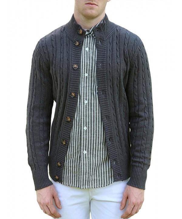 Allegra Collar Sleeves Breasted Cardigan