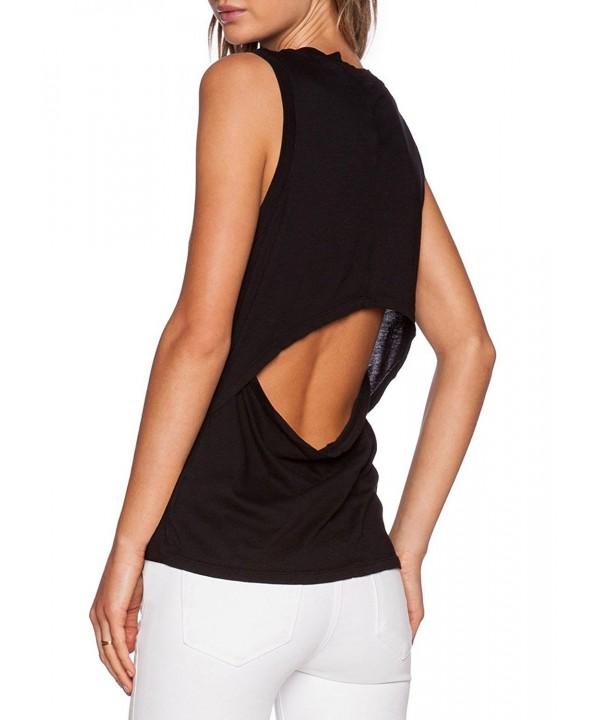 Bestisun Womens Sleeveless Stretch Backless