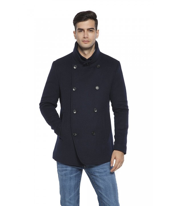 RLM Blended Melton Double Breasted Peacoat