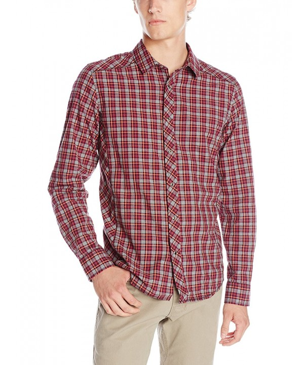 prAna Mens Archer Shirt Small