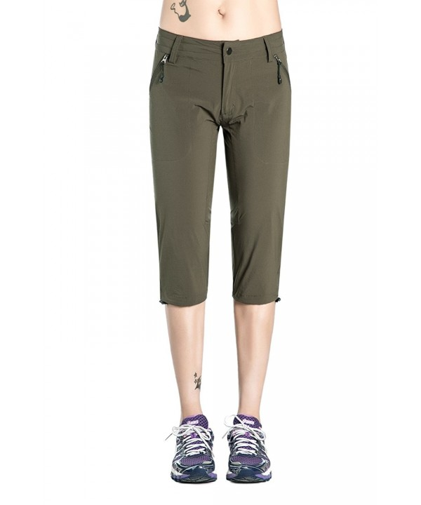 Nonwe Womens Outdoor Quick Capris