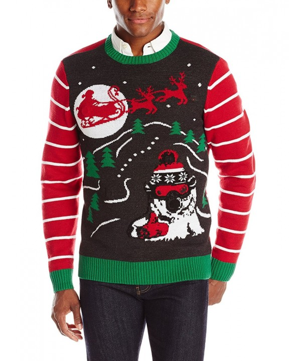 Ugly Christmas Sweater Radical Heather