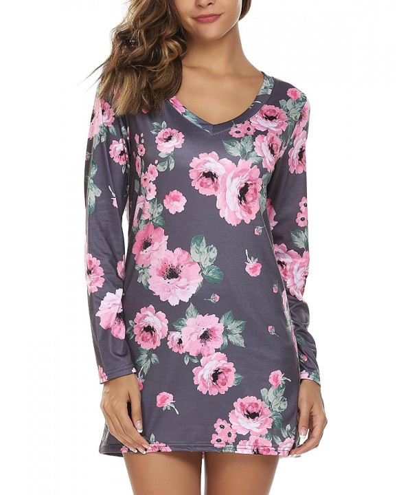 Zeagoo Sleeve Floral Blouse T Shirt
