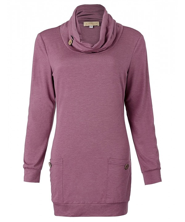 Womens Sleeves Blouse Foldable Sweatshirts