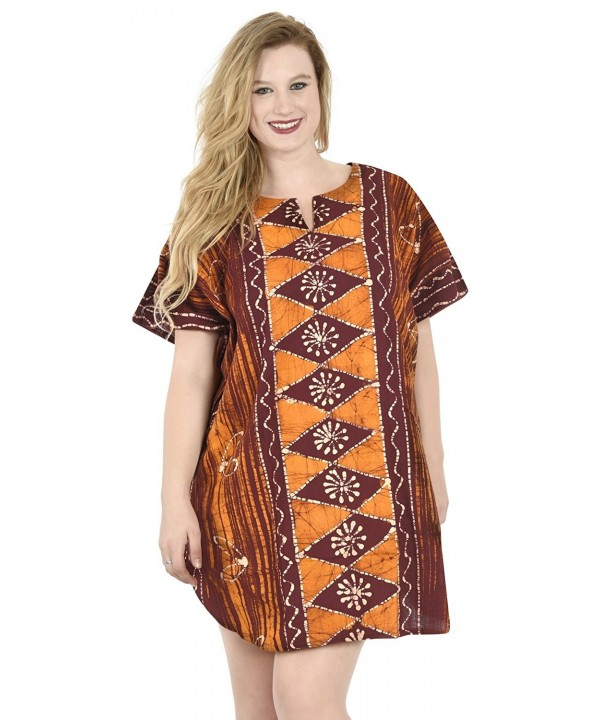 Leela Womens Beachwear Casual Caftan