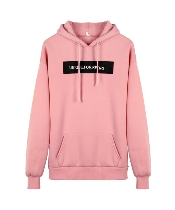 KOERIM Drawstring Sweatshirt Lightweight Pullover