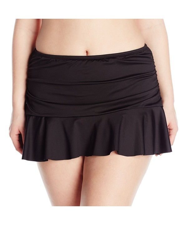24th Ocean Womens Plus Size Skirted