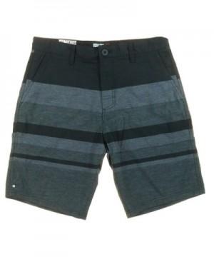 Micros Front Causal Shorts Black