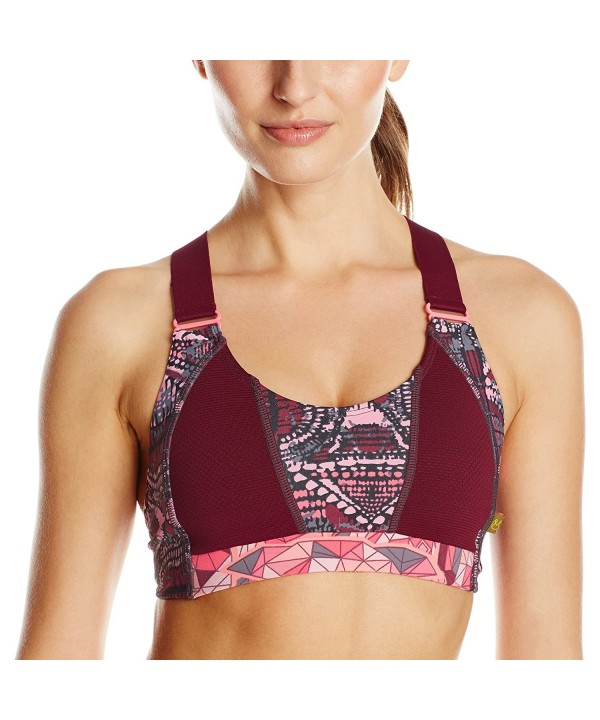 Maaji Womens Rosebloom Sports Maroon
