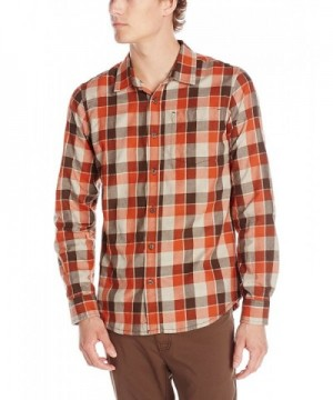 prAna Mens Huntly Shirt Small