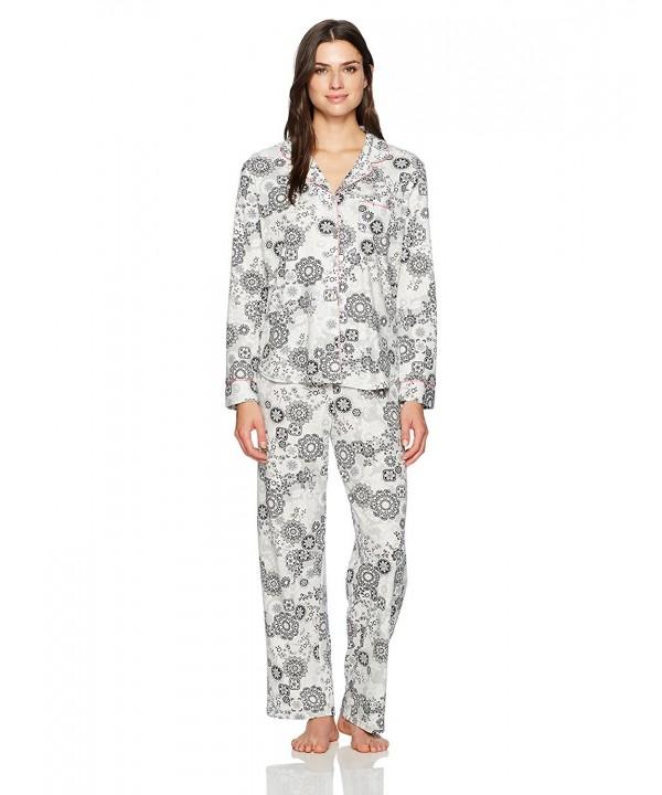 Karen Neuburger Womens Pajamas Floral